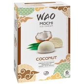 WAO Mochi Ice Cream Coconut 6 x 36 ml