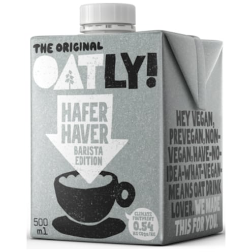 Oatly Hafer Barista Edition 500 ml
