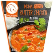 YOUCOOK Indian Style Butter Chicken mit Huhn 420 g
