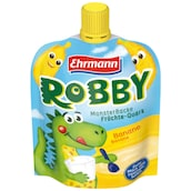 Ehrmann Robby Monster Backe Früchte-Quark Banane 90 g