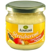Alnatura Bio Streichcreme Curry Mango Papaya 180 g