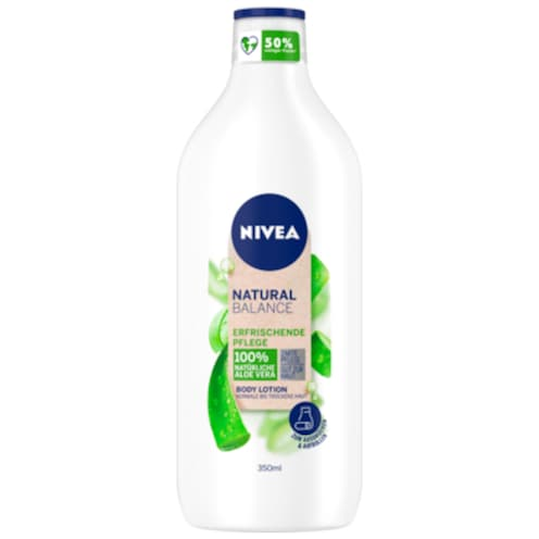 NIVEA Natural Balance Aloe Vera Body Lotion 350 ml