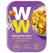 Weight Watchers Thai Green Curry mit Hähnchenbrustfilet und Jasminreis 350 g