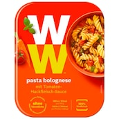 Weight Watchers Pasta Bolognese mit Tomaten-Hackfleisch-Sauce 350 g