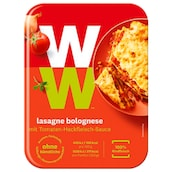 Weight Watchers Lasagne Bolognese mit Tomaten-Hackfleisch-Sauce 350 g