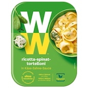 Weight Watchers Ricotta-Spinat-Tortelloni in Käse-Sahne-Sauce 350 g