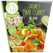 YOUCOOK Grünes Thai Curry mit Huhn 430 g