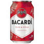 BACARDÍ Carta Blanca & Cola 10 % vol. 0,33 l