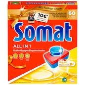 Somat 7 All in 1 Multi-Aktiv Geschirrspültabs 60 Tabs