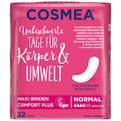 Cosmea Maxi Binden Comfort Plus Normal 22 Stück