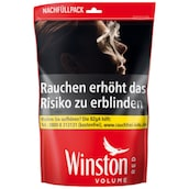 Winston Volume Tobacco Red Zip-Bag 3XL 200 g