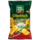 funny-frisch Chipsfrisch Sour Cream & Wild Onion 175 g