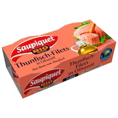 Saupiquet Thunfisch-Filets in Olivenöl 2 x 80 g