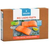 followfish Bio-Lachs Filets 2 Portionen