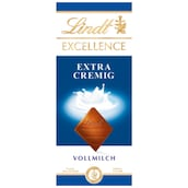 Lindt Excellence Milch Extra Cremig 100 g