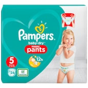 Pampers Baby Dry Junior Pants Gr.5 12-17kg 26 Stück