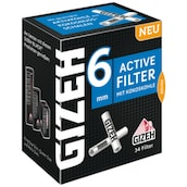 GIZEH Black Active Filter 6 mm 34 Stück