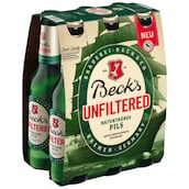 Beck's Unfiltered - 6-Pack 6 x 0,33 l