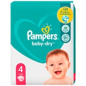 Pampers Baby Dry Maxi Windeln Gr.4 9-14 kg 36 Stück