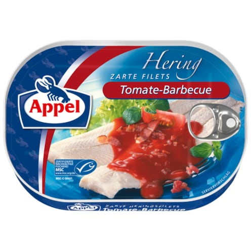 Appel MSC Heringsfilets Tomate-Barbecue 200 g