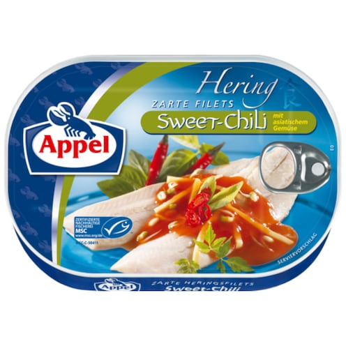 Appel MSC Heringsfilets Sweet Chili 200 g