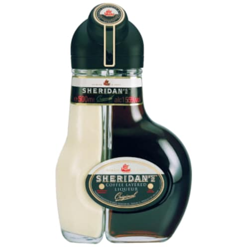 SHERIDAN'S Coffee Layered Liqueur 15,5 % vol. 0,5 l