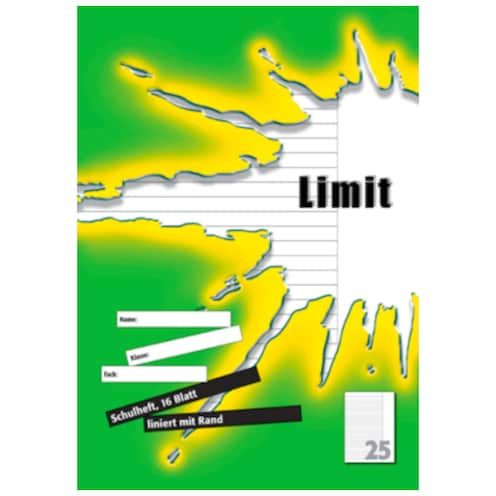 Limit Heft Lineatur 25 16 Blatt