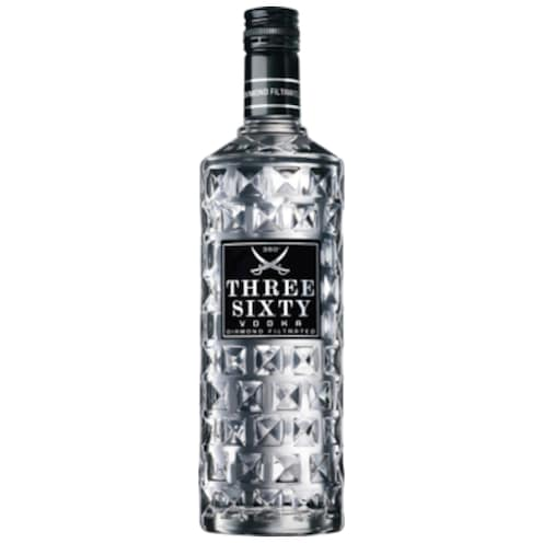 Three Sixty Vodka 37,5 % vol. 0,7 l