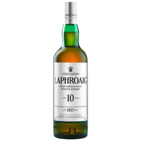 Laphroaig Islay Single Malt Scotch Whisky 40 % vol. 0,7 l