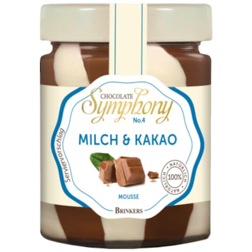 BRINKERS Milch & Kakao Mousse 210 g