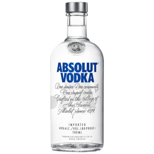 ABSOLUT Vodka 40 % vol. 0,7 l