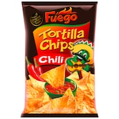Fuego Tortilla Chips Chili 150 g