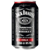 Jack Daniel's mixed with Cola 10 % vol.