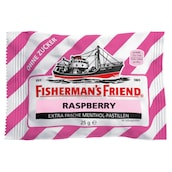 Fisherman's Friend Raspberry ohne Zucker Pastillen 25 g