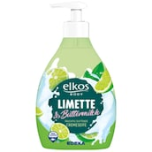 elkos BODY Cremeseife Limette & Buttermilch 500 ml