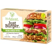 No Meat. Just Burger. - Vegane Burger Patties 230 g