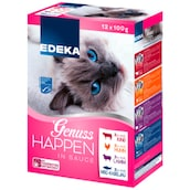 EDEKA Genuss-Happen fein mariniert, Multi-Pack 12 x 100