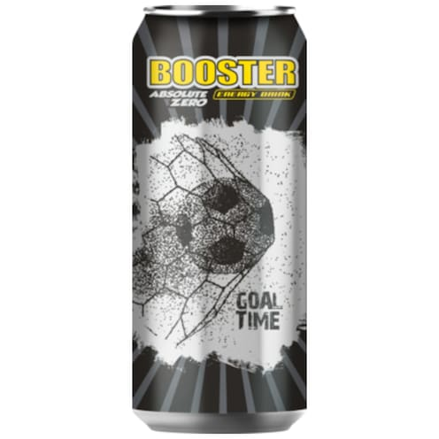 Booster Absolute Zero Energy Drink 0,33 l
