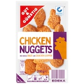 GUT&GÜNSTIG Chicken Nuggets 200 g